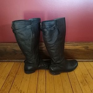 J Crew Emmett Extended Calf Boots Black